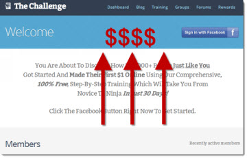 The Challenge Upsells