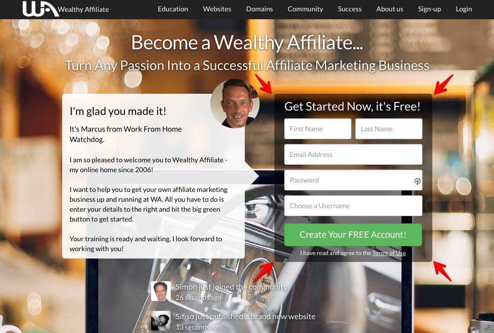 Wealthy-affiliate-members